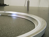 300 mm wafer holder rings for air floating
