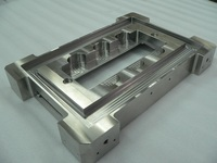 Stainless steel plate - rectangle center opening cut – food industry - SUS304 precision machining