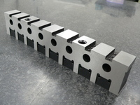 Hardening, Jig Boring, High Hardness Material, Hole Pitch 0.01mm, Flatness 0.01mm, Parallelism, 0.01 mm, SKD11