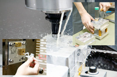 We offer a full range of services from simple die production to injection molding.