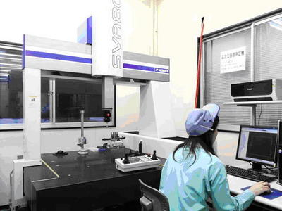 To ensure high quality, we have installed preciseness measuring machines.