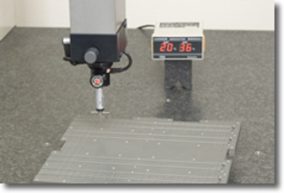 Creation of inspection data on precision machined parts with 3-D coordinate measuring devices