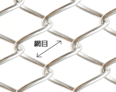 Diamond shaped wire netting ; Vynil coated Galvanized Construction
