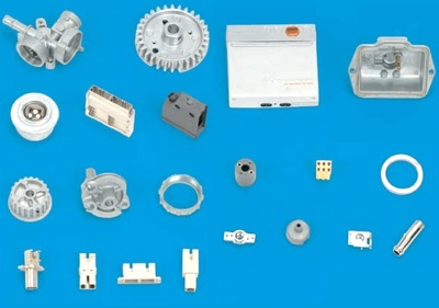 Zinc die casting [From mechanical parts to exterior parts, etc., Insert casting, plating, coating, and printing, etc.]