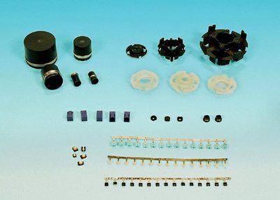 Electronics and Electricity Parts 【Thermoplastic resin, Thermosetting Resin, Thin, Insert Molding】