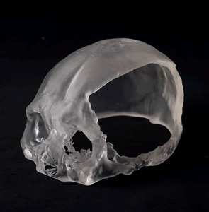 Medical Model Manufacture by Commission (Optical Shaping and Human Skull)