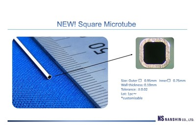 ☆NEW☆ Square Microtube