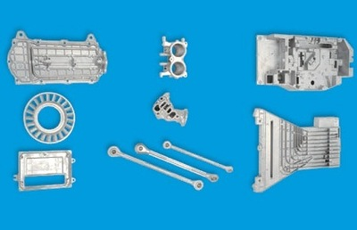 Aluminum die casting [Automotive parts, 2-wheel parts, general parts, and office machine parts, etc.]