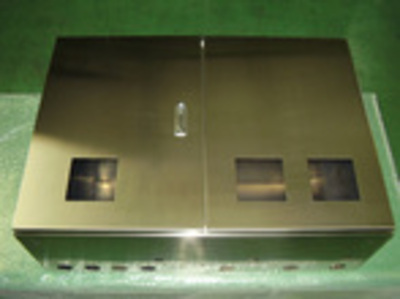 Stainless Steel Control Board Box Welding Assembly (Double Doors Structure/SUS304)