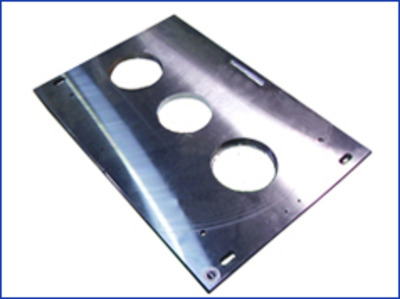 Secondary plate machining