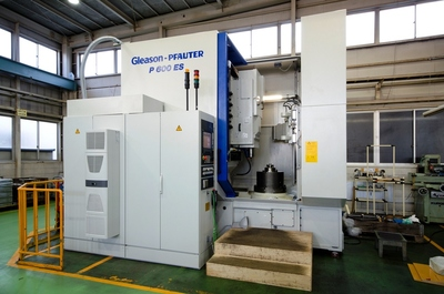 The First Among Japan! Gear Shaper, Helical Guide-less , Gleason-Pfauter P600ES