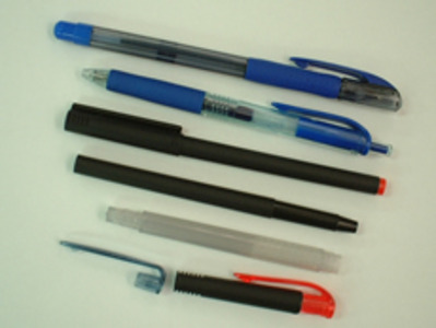 Plastic injection molding [Ball-point pens/Final products]