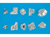 Squeeze die casting [Automotive parts, hydraulic valves and hydraulic cylinders, etc.]