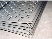 Sieve plate with hook processing