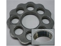 Reducer Plate ; Development Product SUJ2 Hot forging-Cold blanking Machinery