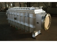 【Heat Exchanger】 Gas cooler (Coke oven gas)