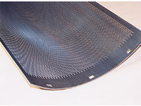 Perforated metal for trommel