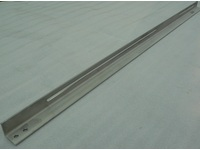 Stainless angle with long processing