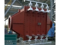 【Heat Exchanger】 Air heater for white fume quenching