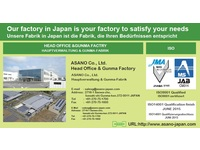 Our factory in Japan is your factory to satisfy your needs