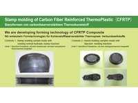 Stamp molding of Carbon Fiber Reinforced ThermoPlastic(CFRTP)