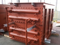 【Heat Exchanger】 Exhaust gas reheater