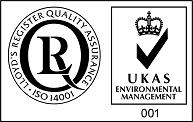 We've constructed an ISO 14001 Environmental Management System!